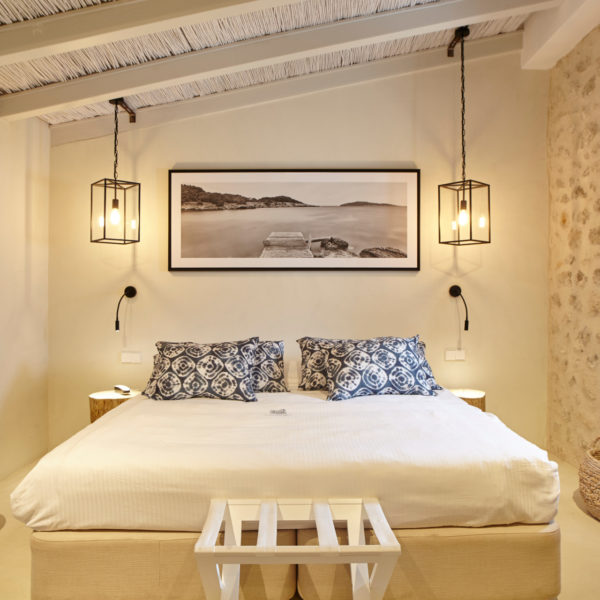 Habitación Hotel Torre del Canónigo Ibiza