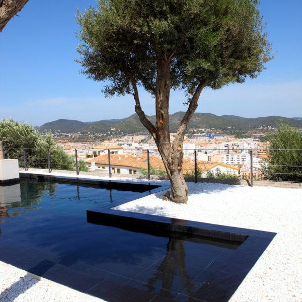 Piscina Hotel Torre del Canónigo Ibiza